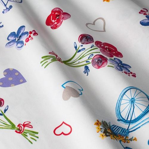 Итальянская ткань в стиле прованс - 800582v1