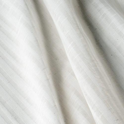 Испанская бело-серая тюль c прозрачными вставками - 800590v2