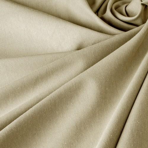 Хлопковая однотонная ткань компаньон к шторам прованс беж - DRE-2288