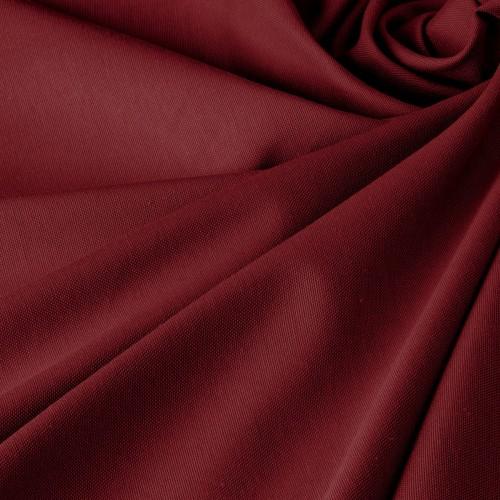 Ткань для штор темно-бордовый - DRK-14308
