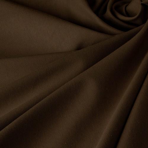 Ткань для штор в стиле прованс коричневый - DRK-14448