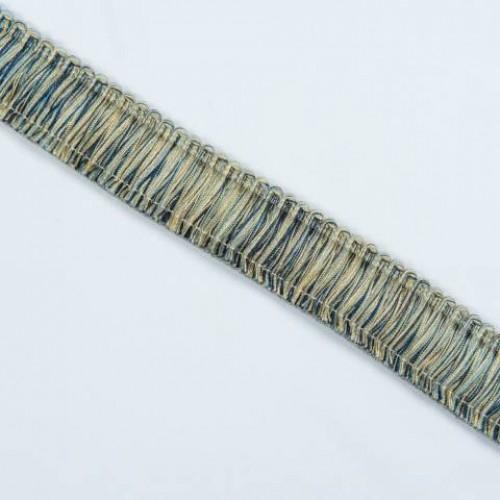 Бахрома щетка, сине-голубой 4см - 105576
