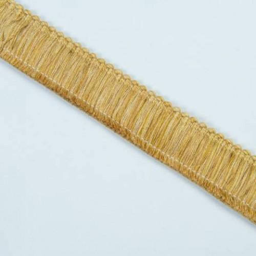 Бахрома щетка, золото 4см - 105580