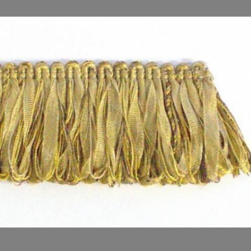 Бахрома петля, коричн-золото - 105594