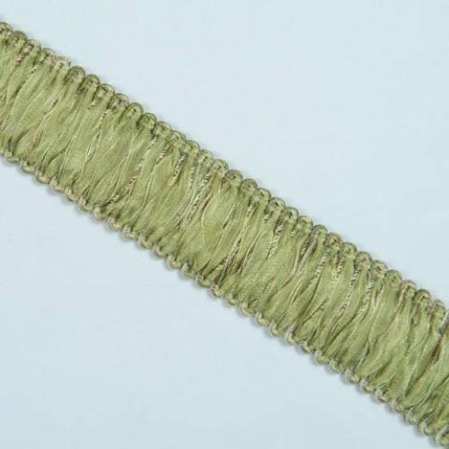 Бахрома петля органза, нефрит - 105598