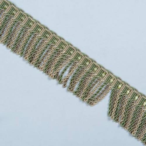 Бахрома спираль, нефрит 6.5 см - 105602