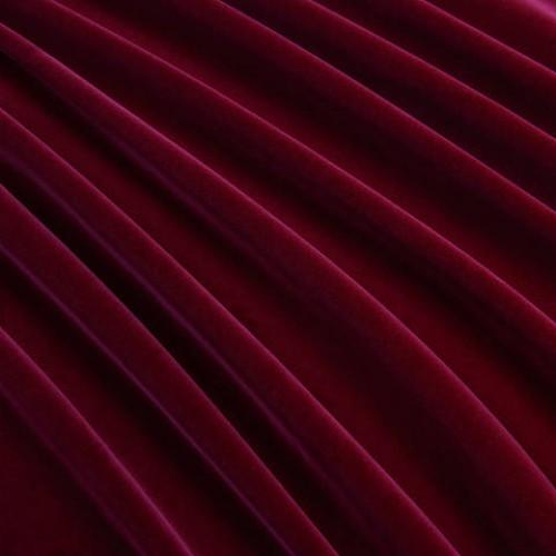 Велюр классический бургунди - 118198