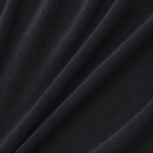 Флис черный - 119652