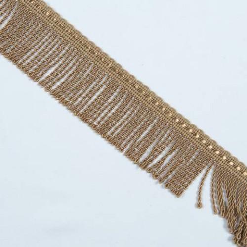 Бахрома спираль, карамель 5см - 122698