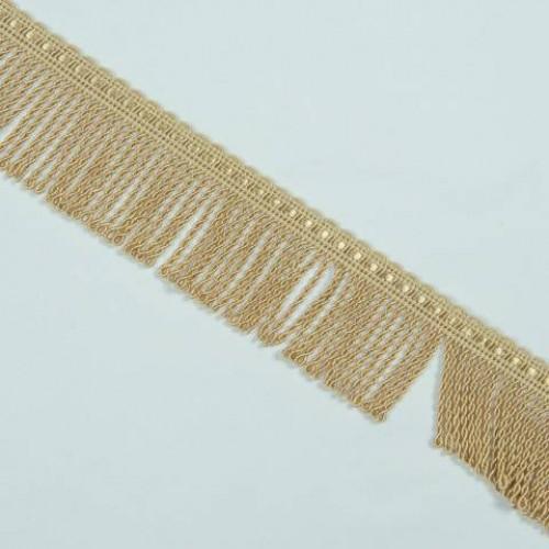 Бахрома спираль, св. золото 5 см - 122700