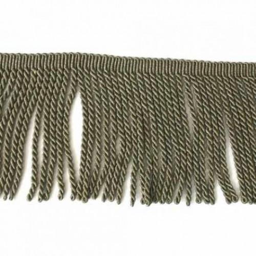 Бахрома голд спираль, бронза 17см - 138062