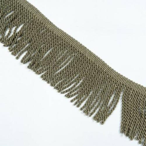 Бахрома голд спираль, бронза 14см - 138070