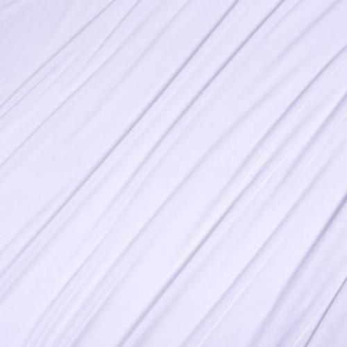 Бархат стрейч белый