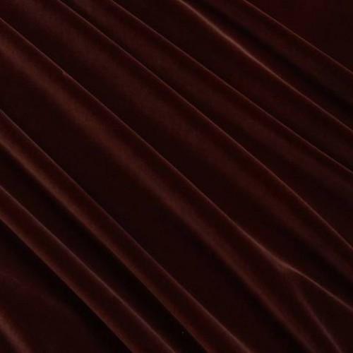 Велюр классический коричневыйсирень - 158910