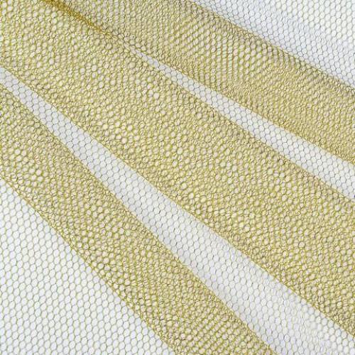 Декор сетка шестигранник крупный золото - 172020