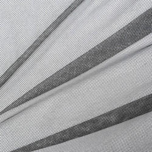 Декор сетка ромбик чёрный - 172122