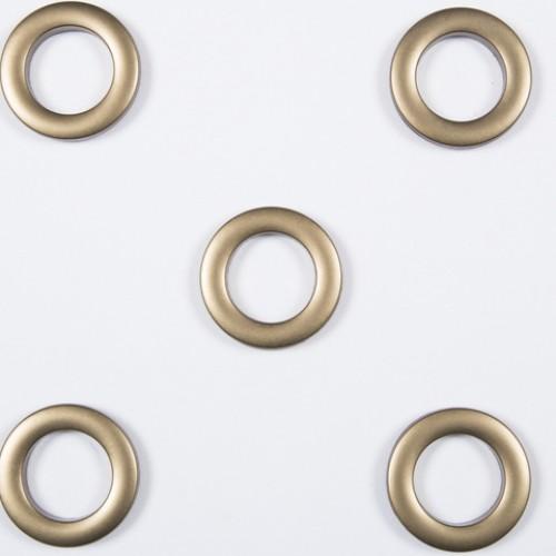 Люверсы круглые пластик оливковый 36мм - 172168