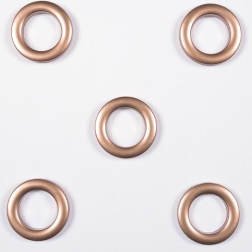 Люверсы круглые пластик старая роза 36мм - 172254