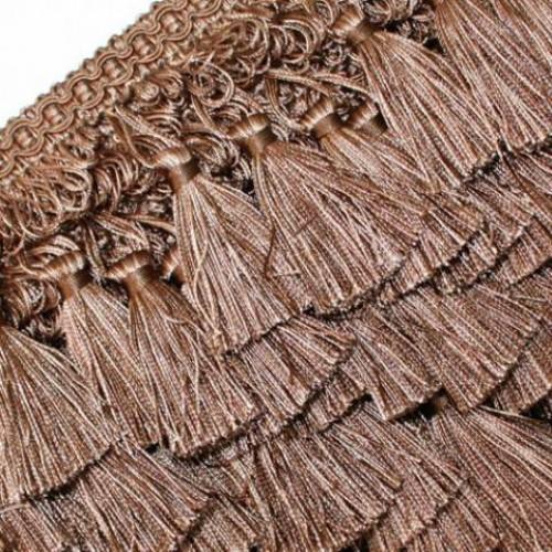 Бахрома кисточка, коричневый - 182562