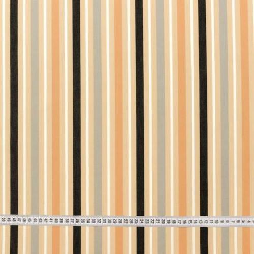 Дралон полоса серый бежевый чёрный тефлон - 188210