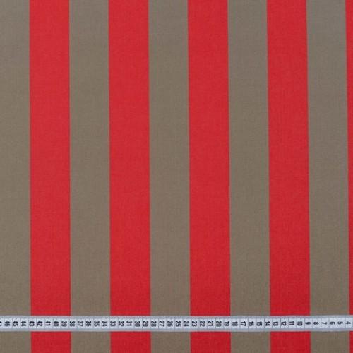 Дралон полоса т.бежевый красный тефлон - 188250