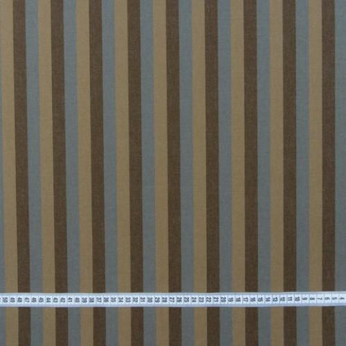 Дралон полоса коричневый табак серый тефлон - 188260