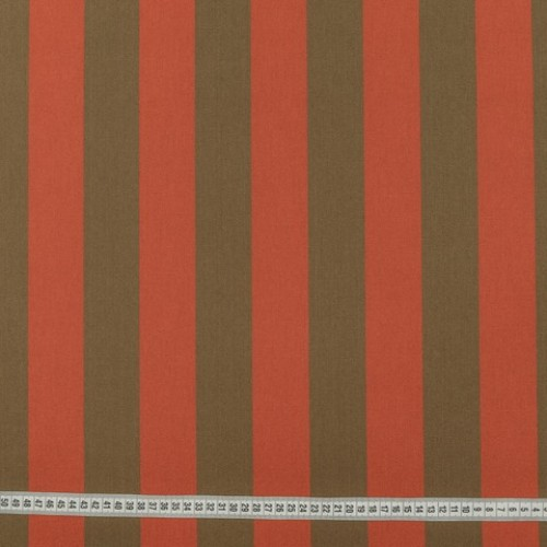 Дралон полоса табак терракот тефлон - 188280