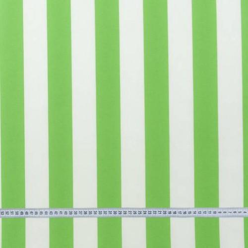 Дралон полоса молочный зеленый тефлон - 188282
