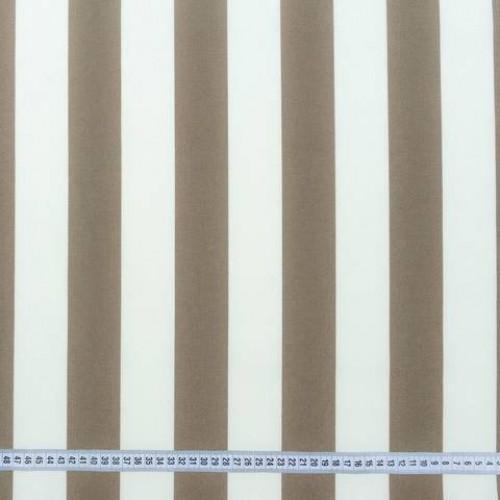 Дралон полоса молочный серый тефлон - 188286
