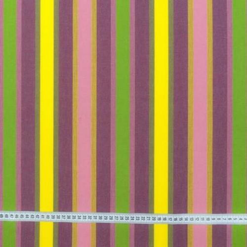 Дралон полоса сирень ярк.желт оливка - 193384