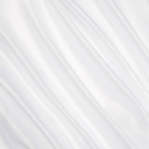 Микровуаль однотонная белый утяж - 193890
