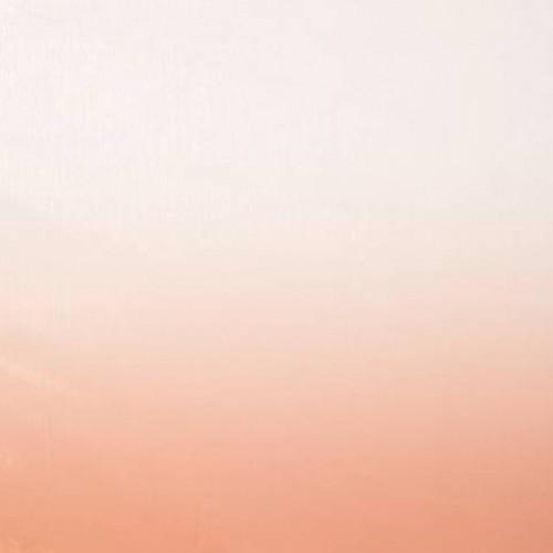 Микровуаль (муар) растяжка, оранжево-розовый - 195688