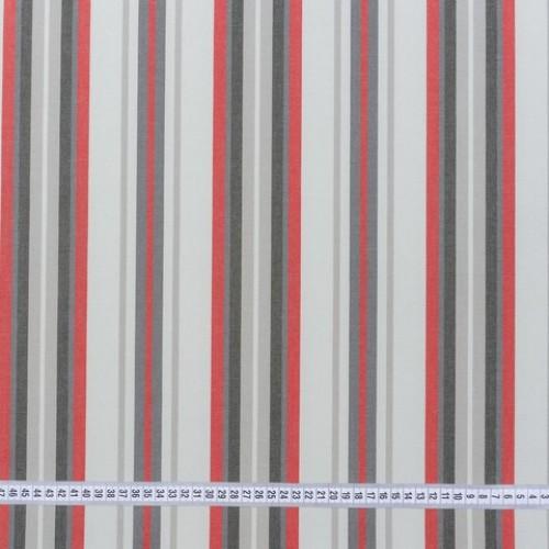 Дралон полоса бордо серый т.серый тефлон - 213336