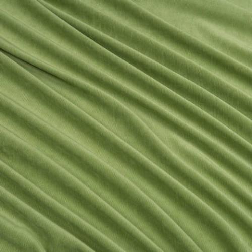 Велюр плотный для декора зелёное яблоко - 214230