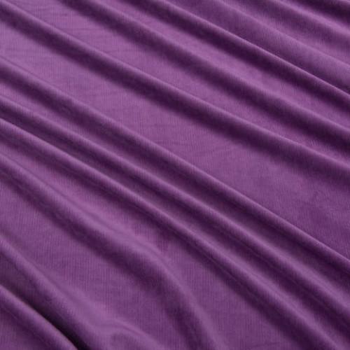 Велюр плотный для декора фиолетовый - 214262