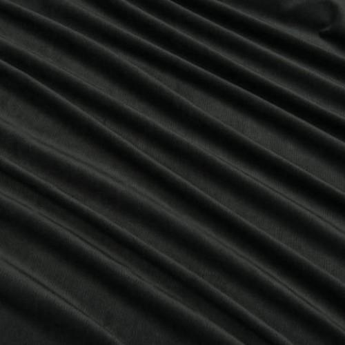 Велюр плотный для декора черно-коричневый - 214316