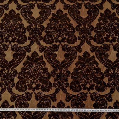 Декор шенилл жакард вензель т.коричневый - 225550