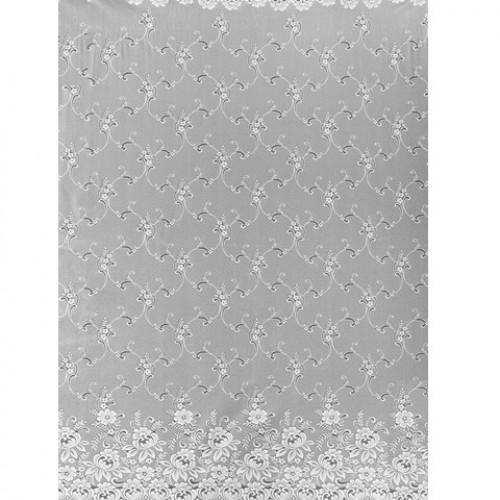Штори гардини белый - 228642