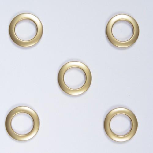 Люверсы золото матовое 35мм - 235500