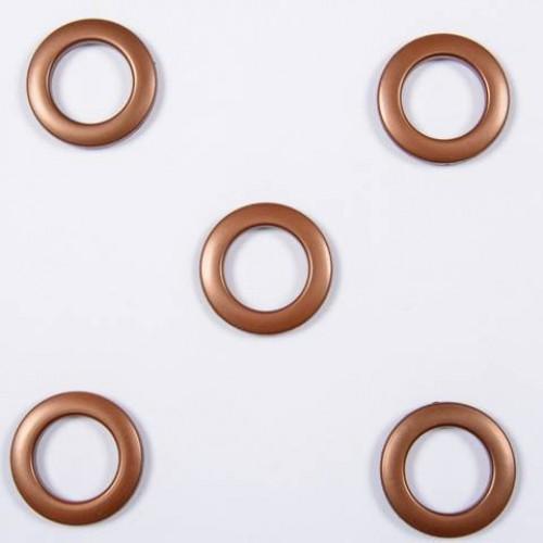 Люверсы коричневый 35мм - 235504