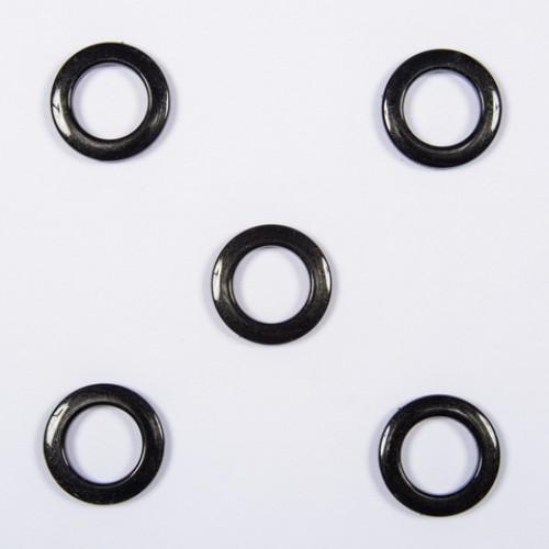 Люверсы чёрный 35мм - 235518