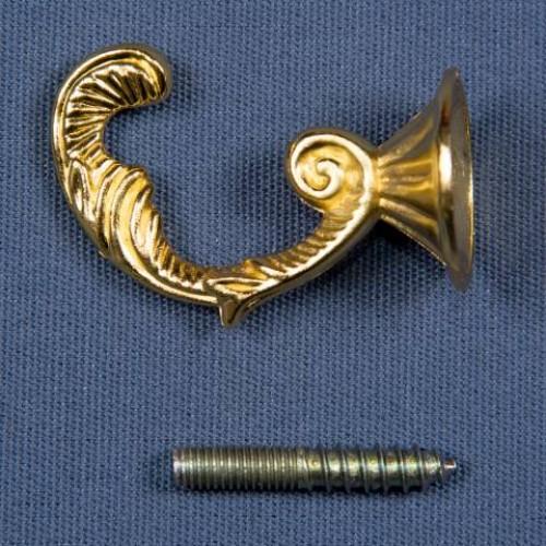 Крючок веточка, золото - 235902