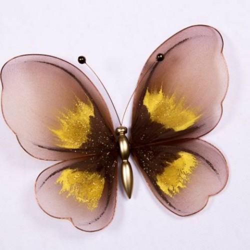 Бабочка большая, коричневый 200х200мм - 236178