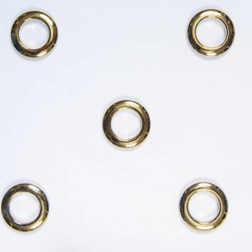Люверасы малые золото блестящее 25 мм - 241910