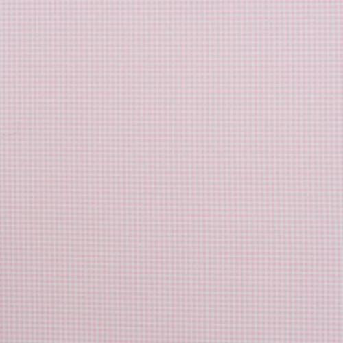 Ткань для штор виши микро клетка розовый - 247562