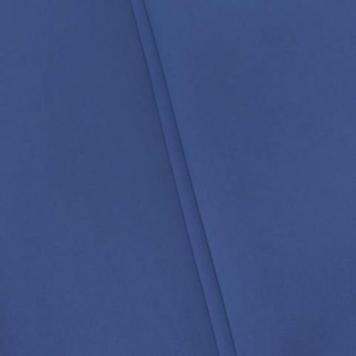 Блэкаут для штор однотонный синий - 257428