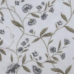 Ткань с акриловой пропиткой цветы - 261100