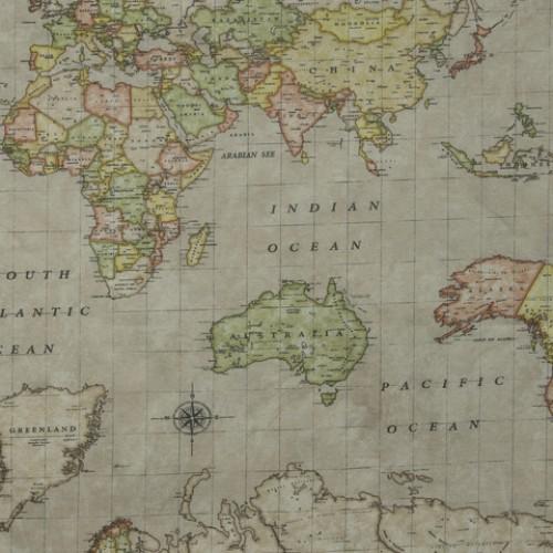 Акриловая ткань карта - 262552