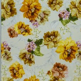 Ткань из хлопка и полиэстра для декорирования - 265152
