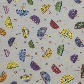 Ткань для штор зонтики  - 268460
